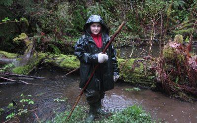 Youth Lead Millard Creek Fisheries Tour